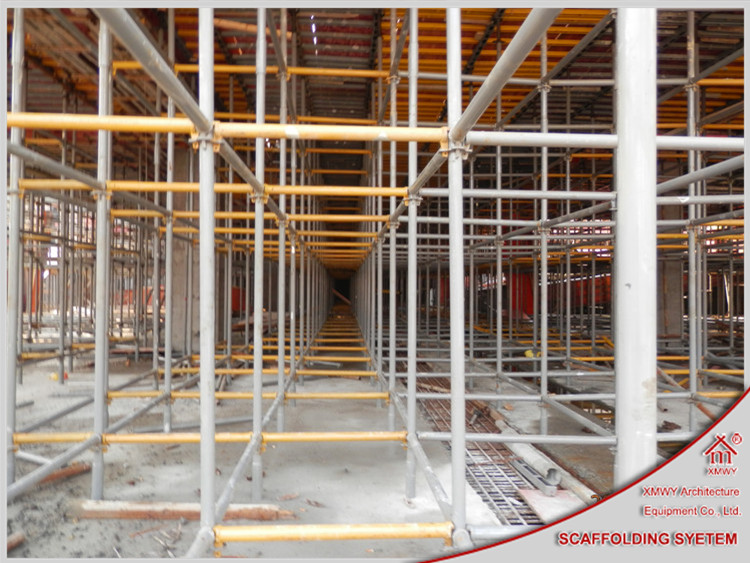 Scaffolding And Shuttering : Slab shoring formwork roof supporting in construction