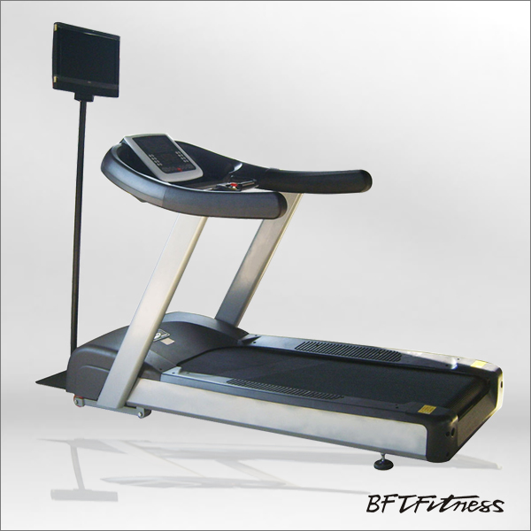 Fitness club treadmill/fitness equipment treadmill/treadmill with dvd player