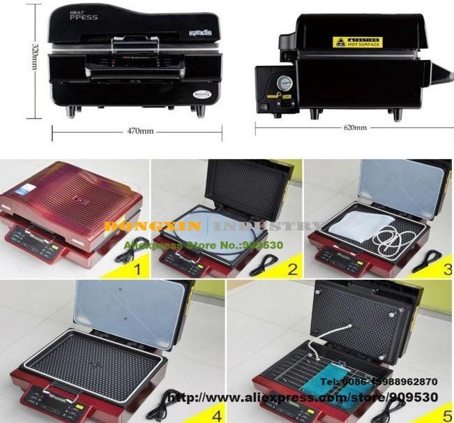Купить ST-3042 3D Сублимации вакуум машина давления жары для кружки телефон случае и пластины