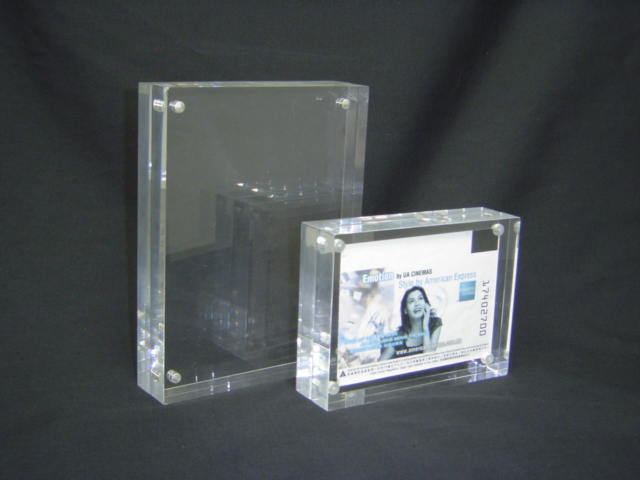 Acrylic Box Picture Frames 5x7: Custom beautiful clear acrylic ...