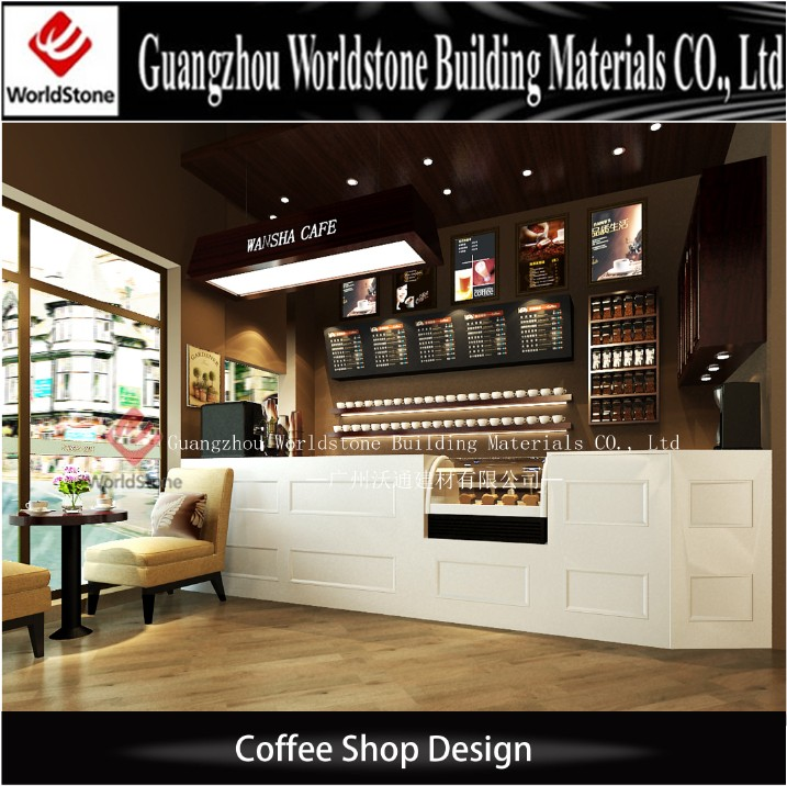 Coffee Shop Bar Counter Led Bar Counter Shop Cash Counter