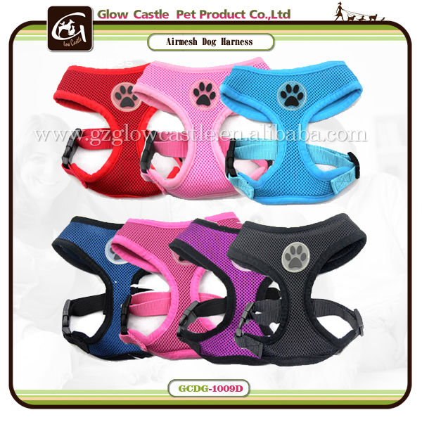 Glow Castle Fashion Paw Design Dog Harness With Soft Breathable Airmesh (1).jpg