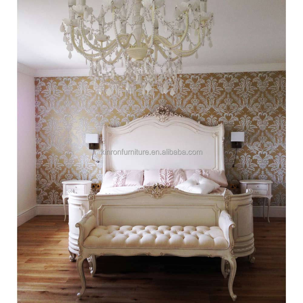 Solide meubles de chambre à coucher en bois provençal bonaparte ...