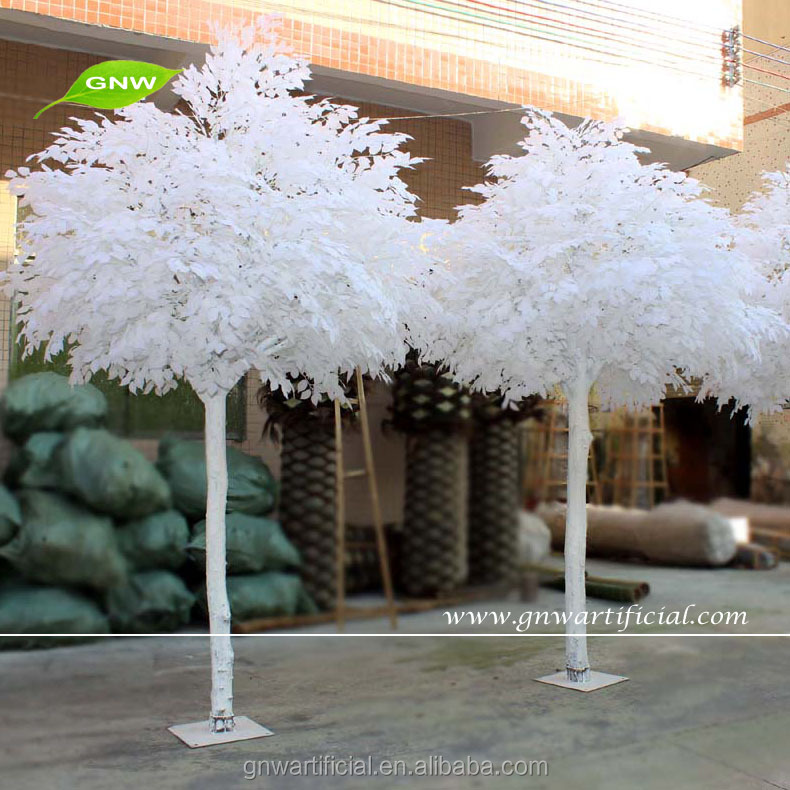 Outdoor Artificial Maple Tree White Wedding Decoration Tree Btr034
