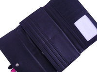 1шт дамы бумажник pu кожаный женский длинный кошелек ремень на различных цветов
