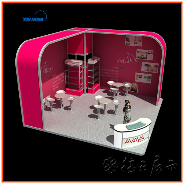 Stall Design For Exhibition : International food exhibition fair show booth stand