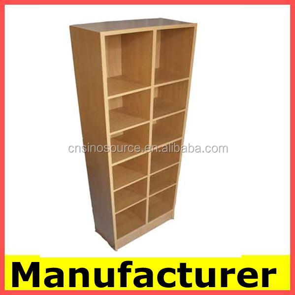 diseo moderno de madera estantera estante libro gabinete estante para libros