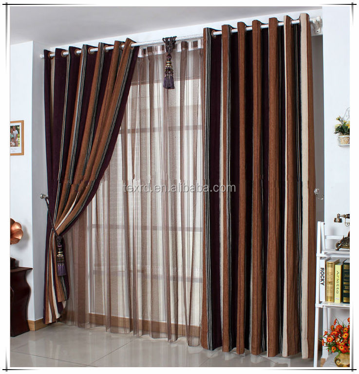 Living Room Blackout Curtain With Sheer Drapery Buy