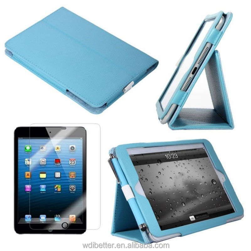 New With Stand For Apple iPad 2/3/4 Magnetic Folio PU Leather Case Cover