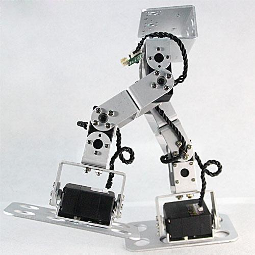 Diy toy robot kit walking with dof humanoid biped