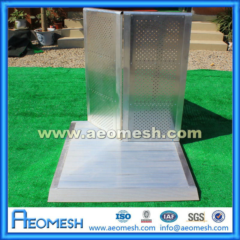 AEOMESH Black Aluminum Fence For Show