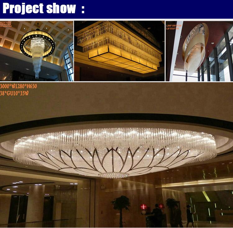 marchio di cristallo grandi lampadari moderni-Lampadari-Id ...