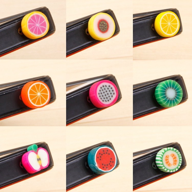 Luxury Phone Accessories Small Fruit 3.5mm Silicone Dust Plug Earphone Plug For Iphone Ipad Samsung HTC xiaomi,Wholesales 50pcs