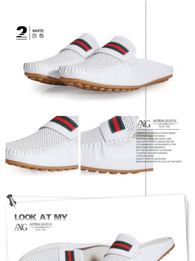 Натуральная кожа воловьей кожи мужчин Кози сандалии с ремень мужчины классический Открытый скольжения сандалии Тапочки
