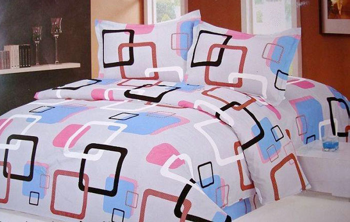 custom printed fabric new bed sheet design buy new bed sheet