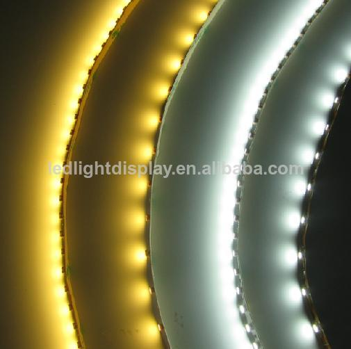 5Meter 3528 60LED/meter Pure White continuous led strip with White PCB in IP67