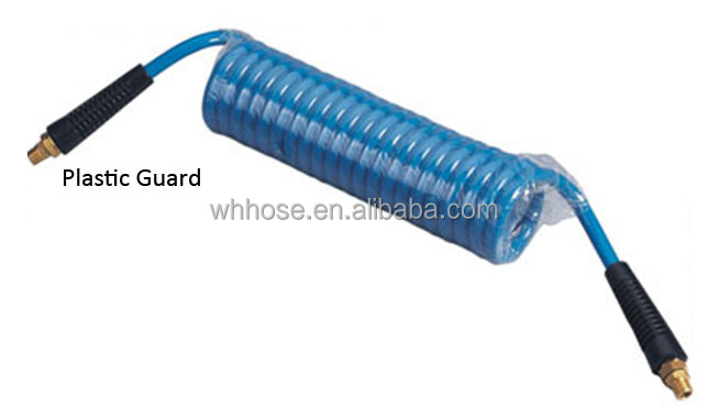 flexible Polyurethan hose braided for 300 PSI working pressure