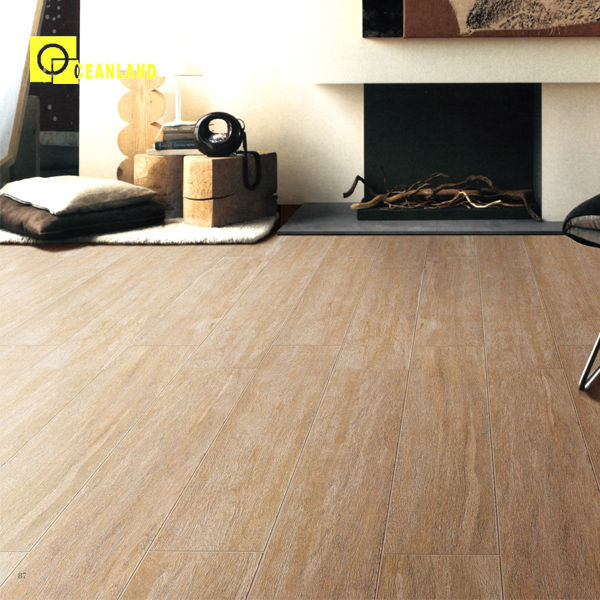 Chinese Foshan Living Room Interior Wood Floor Tiles Price