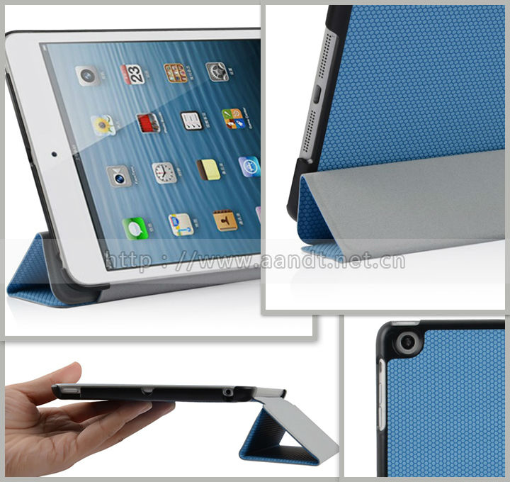 PU Leather Case for iPad Mini accept Paypal