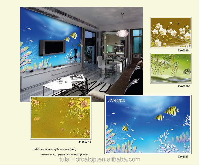 3d wall murals digital printing wallpaper special size and for Digital print mural