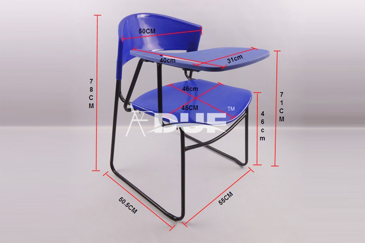 Wholesale School Table Arm Chair Note Taking Tablet Chair Good Price Wholesal