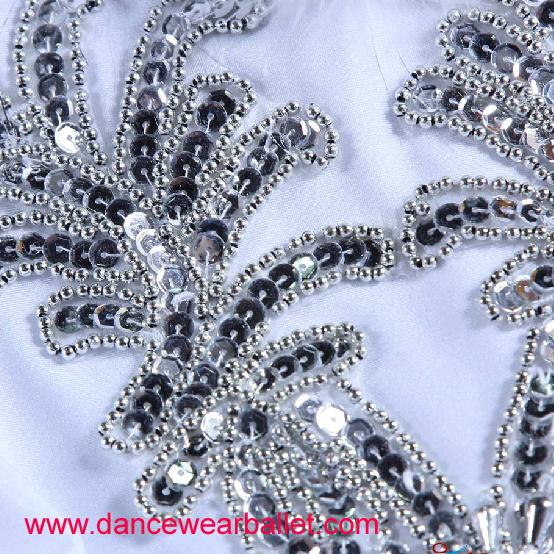 DB35012 Swan Sequin Dance Ballet Costumes-9