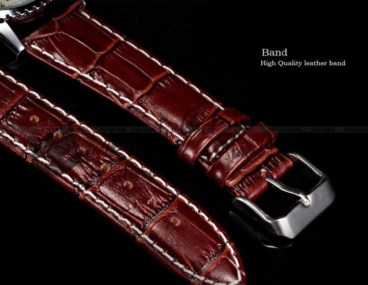 2016 Новый Человек Часы Blackcat Orkina Марка Часы Тенденции Моды мужские Механические Неподдельный Кожаный Пояс Мужчины Рука Ветер платье
