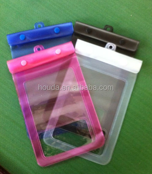 summer hot sale pvc waterproof phone bag for ipad and cellphone