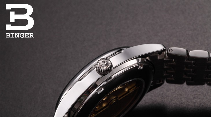 Часы Мужчины Люксовый Бренд Beinuo Автоматическая Бингер Часы Мужчины Кожа Часы Повседневная Наручные Часы Мужской Часы relojes hombre