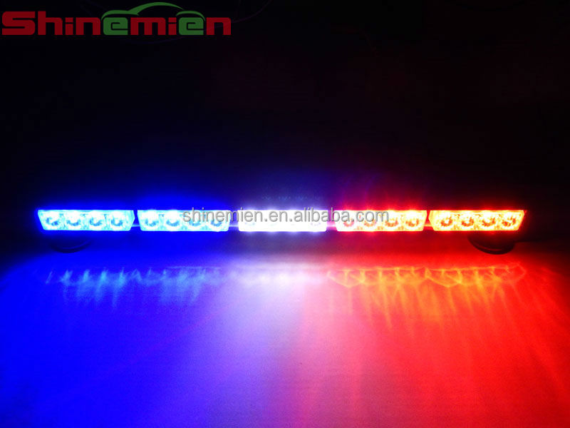 LED Emergency Warning Traffic Advisor Vehicle Strobe Light Bar Picture: