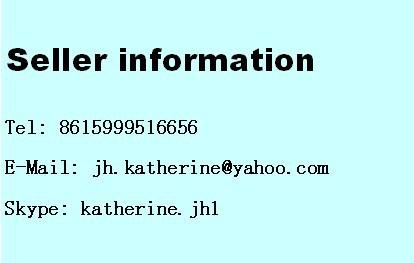 seller information