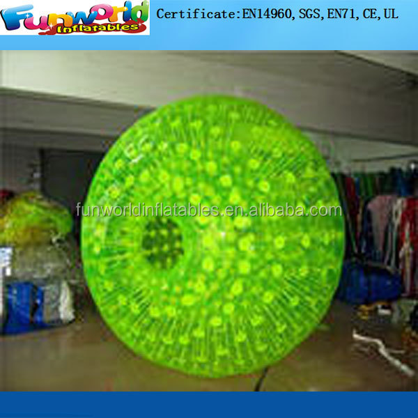 Inflatable Body Bumper Ball , Inflatable Zorb Football Bubble Football for sale