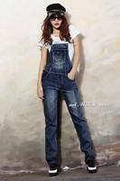 Женский джинсовый комбинезон 8113