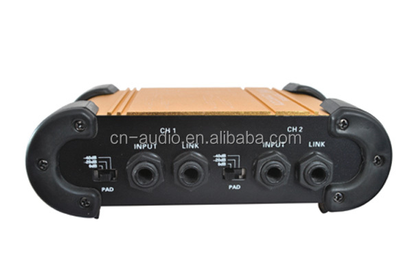 Professional Dual Channel DI Box DB-06