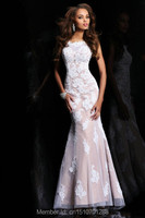 2014 Long Mermaid Party Formal Evening Ball Prom Cocktail Dresses Wedding Gown