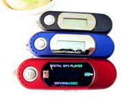 MP3-плеер AAA USB mp3 2GB /FM /U /LCD 10 USB Digital mp3 Player
