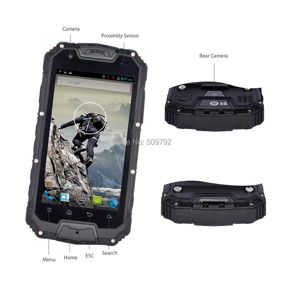 Мобильный телефон Snopow M8 IP68 PTT Walkie Talkie 4.5 MTK6589 8.0MP GPS в интернет-магазине Сena24.ru