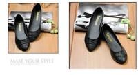 Женская обувь на плоской подошве NEW Fashion Elgent Women shoes for Ladies flats & White, Black