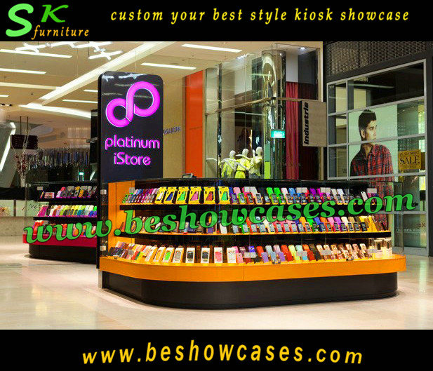 Cute Shape With Top Grade Cell Phone Accessories Kiosk Mobile Phone ...