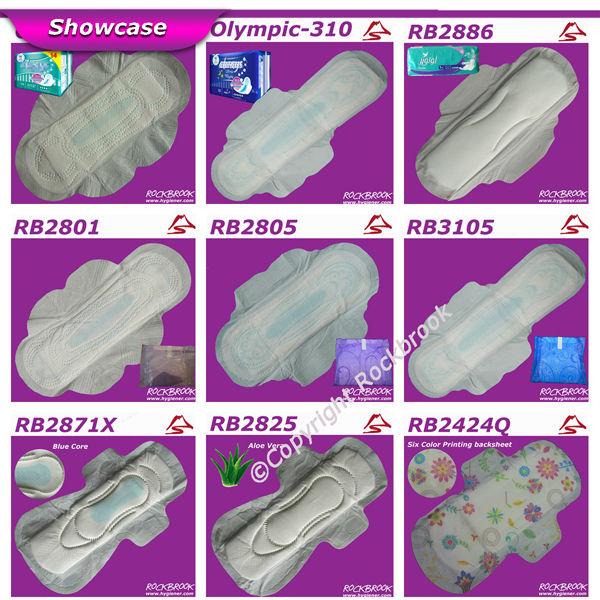Женщин санитарно полотенце, день использовать женщин pad, ночного использования леди pad Размер
