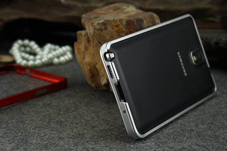 Ultra Thin Metal Aluminum Bumper For Note 3 N9000 (10)