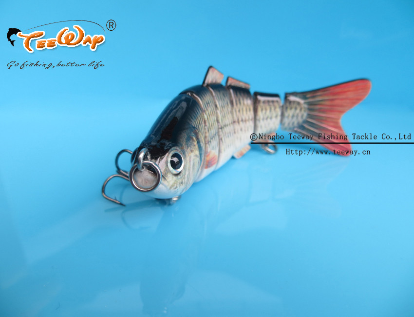 Приманка для рыбалки 6 Swimbait 10 18g