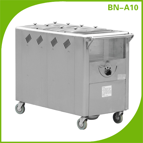 Mobile Food Warmers ~ Bn a stainless steel restaurant kitchen catering
