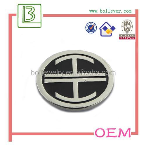 metal logo for golf bag parts