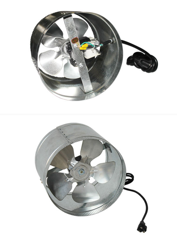 Small Inline Exhaust Fans : Greenhouse plastic inch small size ventilation unique
