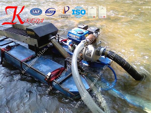 Mini Mining Equipment : Mini gold mining dredger for sale view