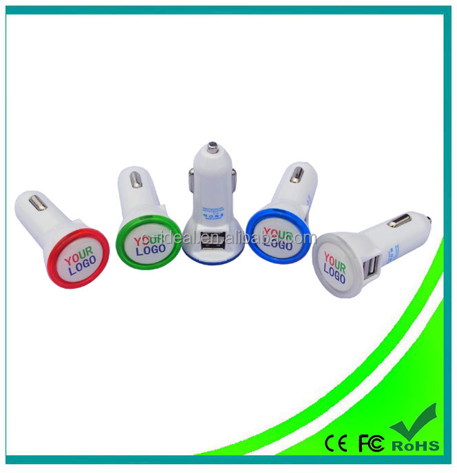 best sale universal Car Charger (with led lighting logo,with patent,original factory)
