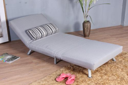 Estrutura met lica completa cobertura de tecido sofa cama for Cama individual metalica