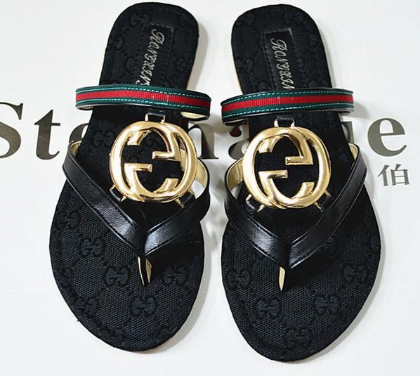 известный бренд дизайнер флип flops для женщин летние плоские сандалии лакированная кожа пряжки знаменитости Гладиатор Повседневная обувь