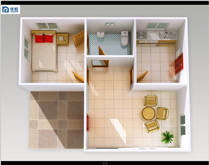 Beautiful long service life economic house designs in for Small bathroom designs pictures india